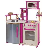 endlich eingetrofen die rosa howa spielk che aus holz. Black Bedroom Furniture Sets. Home Design Ideas