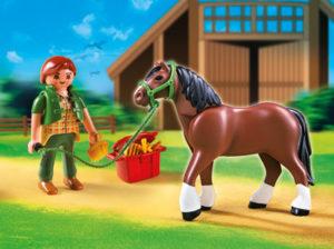 6 schicke playmobil pferde zum sammeln mifus family - Pferde playmobil ...