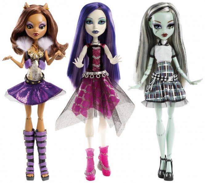 Monster High Puppen 2013
