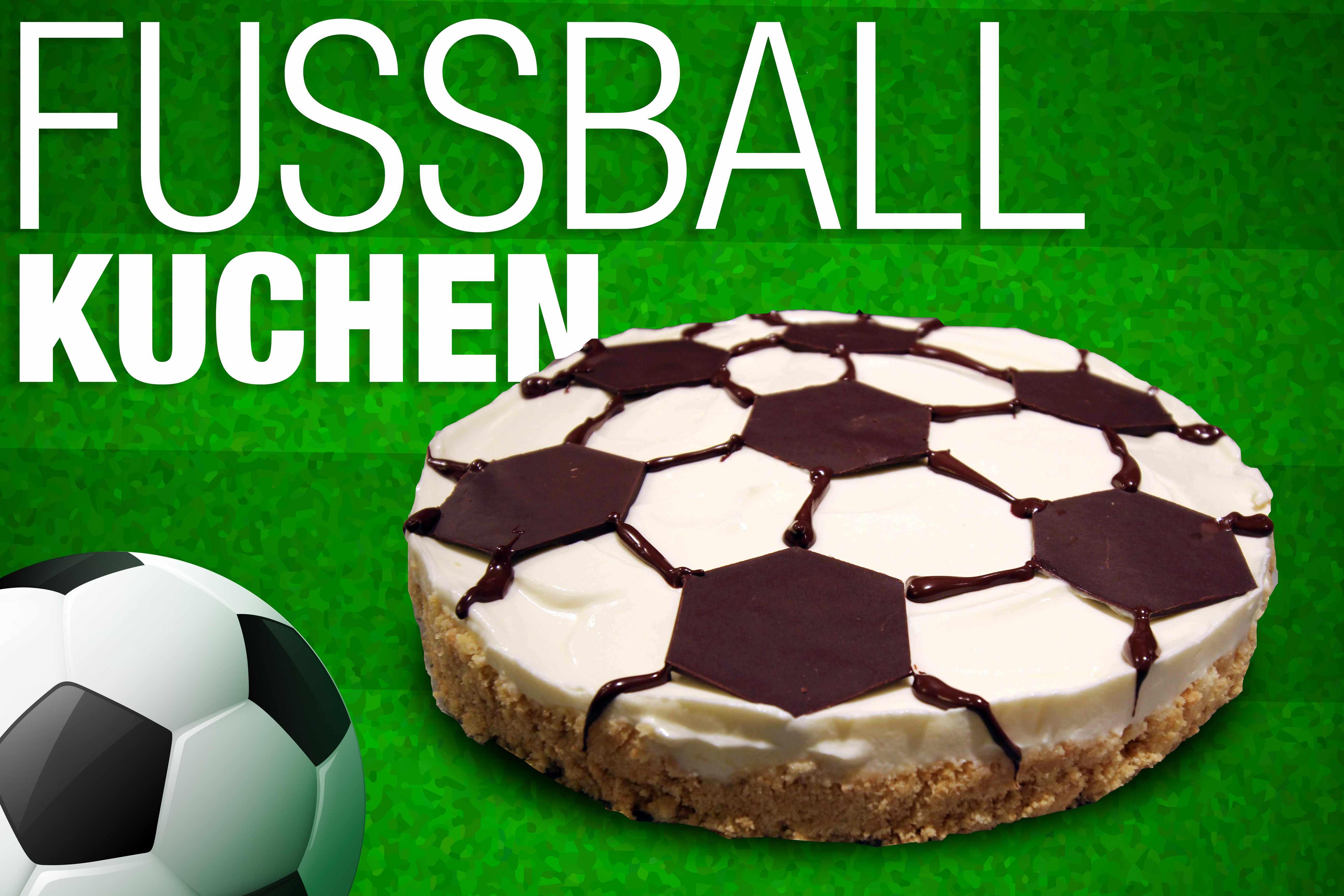 Rezept Fussballkuchen Einfach Lecker Und Ohne Backen