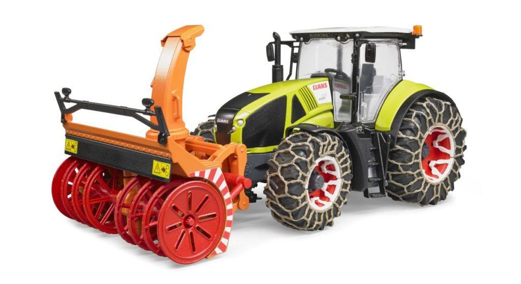 Traktor Claas Axion 950 Mit Schneeketten Von Bruder Mifusfamily
