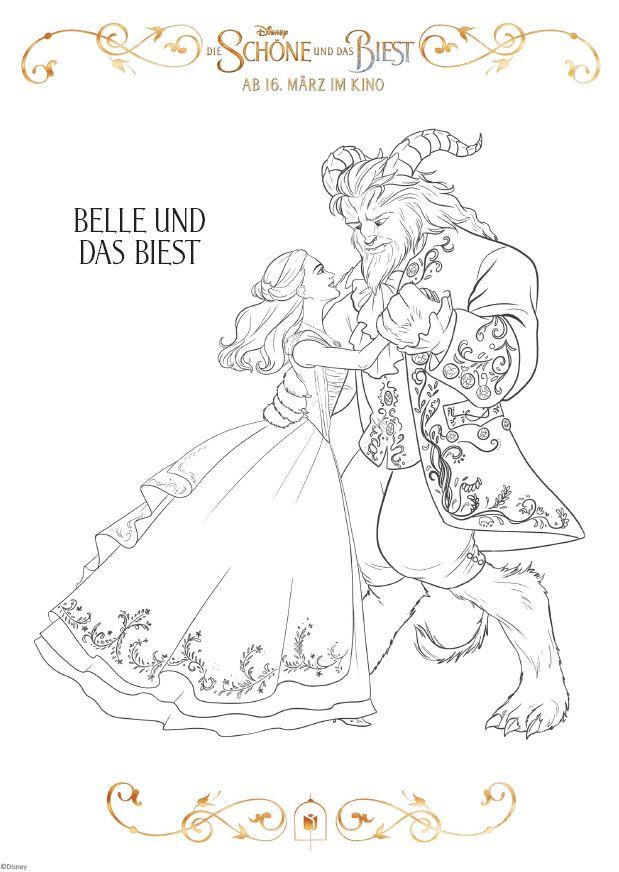 Die Schöne Und Das Biest Die Disney Princess Mifusfamily