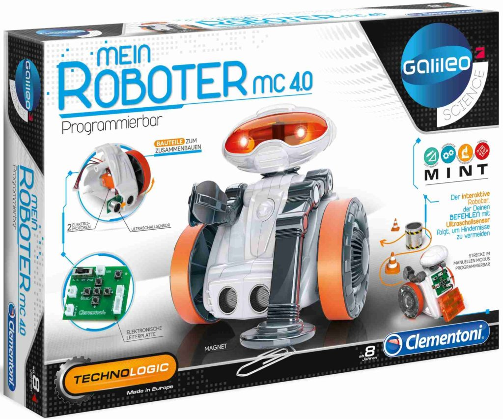 Mein Roboter MC 40 - Galileo Science von Clementoni