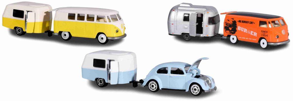 Majorette - Vintage Fahrzeuge mit Anhänger