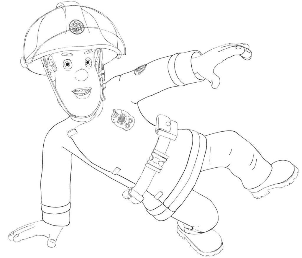 Feuerwehrmann Sam Ausmalbilder zum Ausdrucken - MIFUS Family
