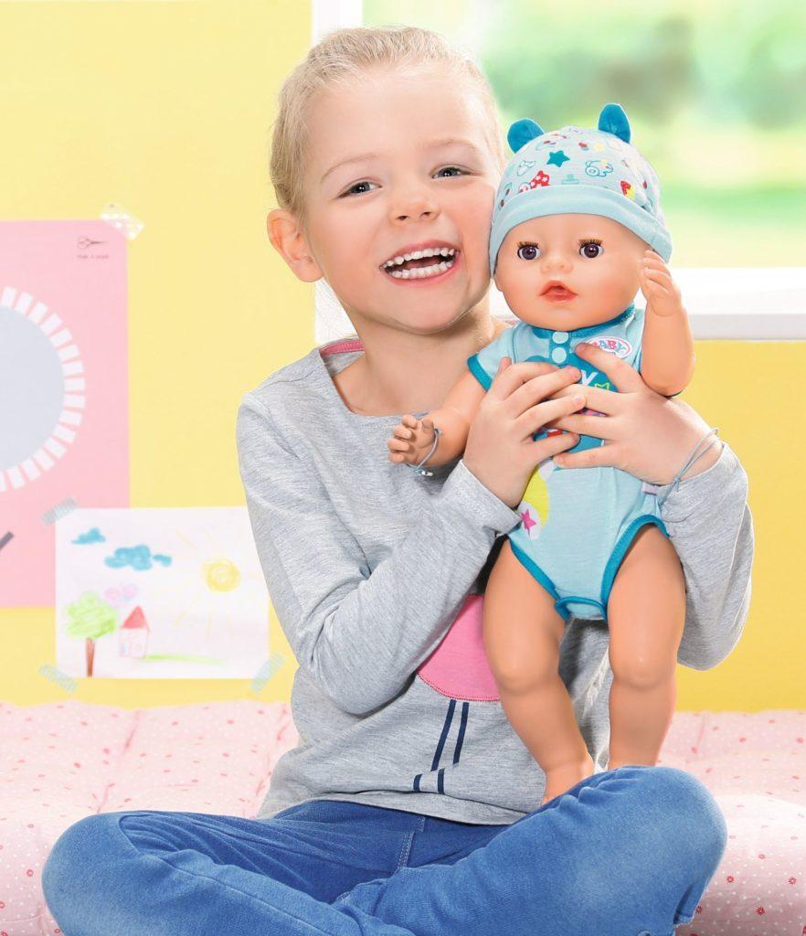 Baby born® Soft Touch Puppe mit Mädchen