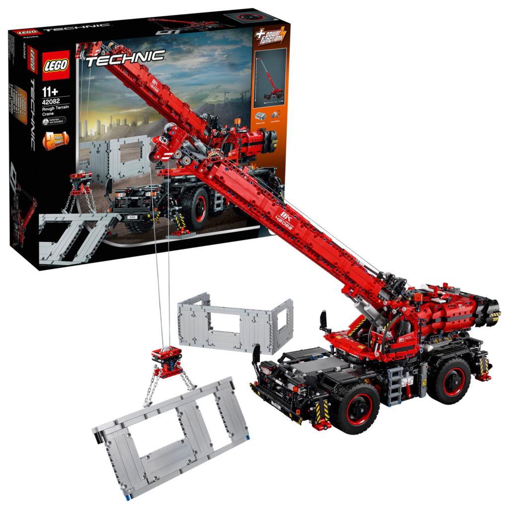 LEGO® Technic 42082 – Geländegängiger Kranwagen