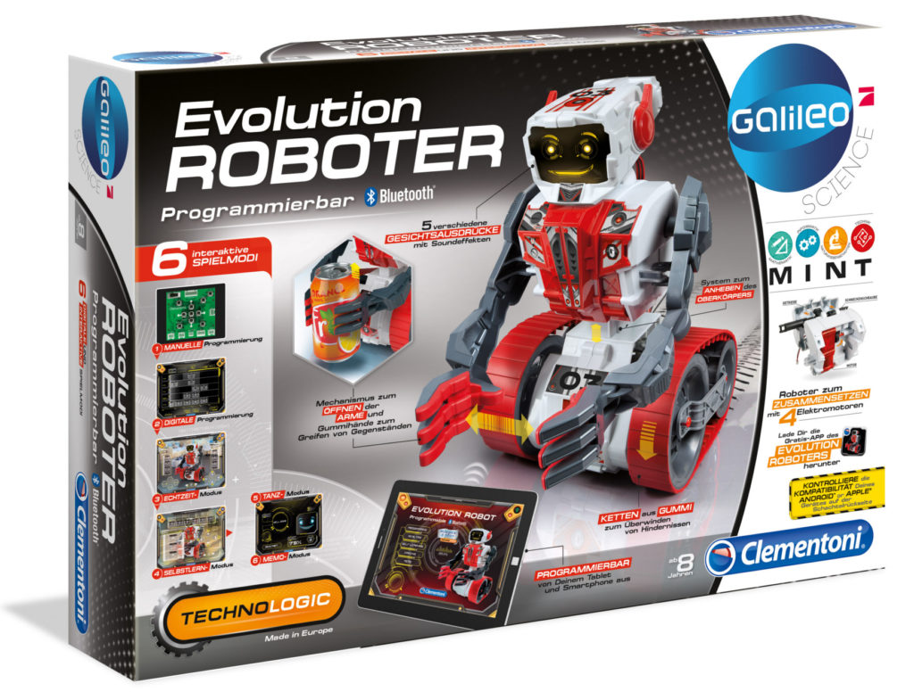 Galileo – Evolution Roboter – Clementoni