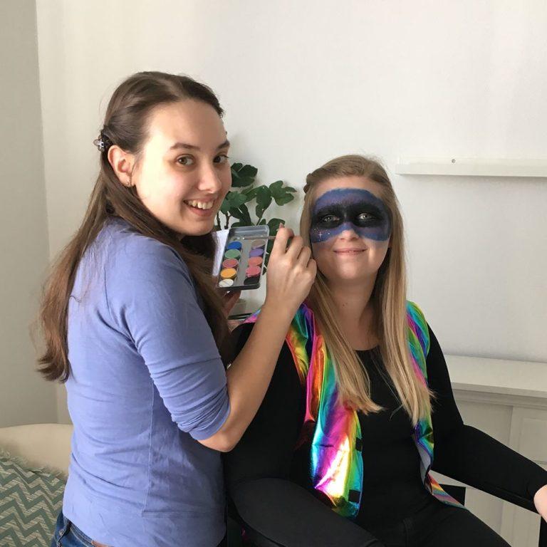 Schminkanleitung für Galaxy Makeup - Schritt 4