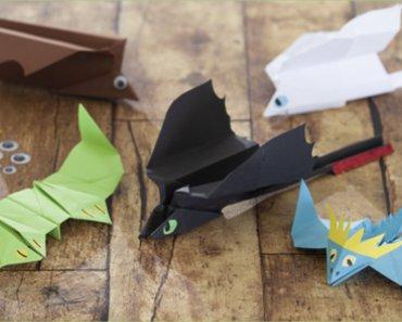 papierdrachen basteln leicht gemacht - mifus family
