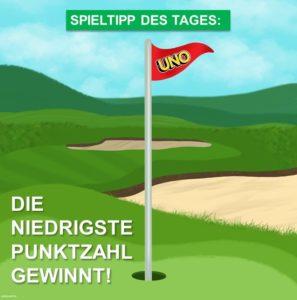 Spieltipp 1 - UNO Golf