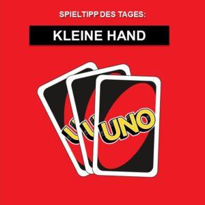 Spieltipp 2 - UNO Kleine Hand