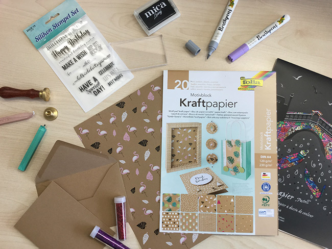 Material Handlettering