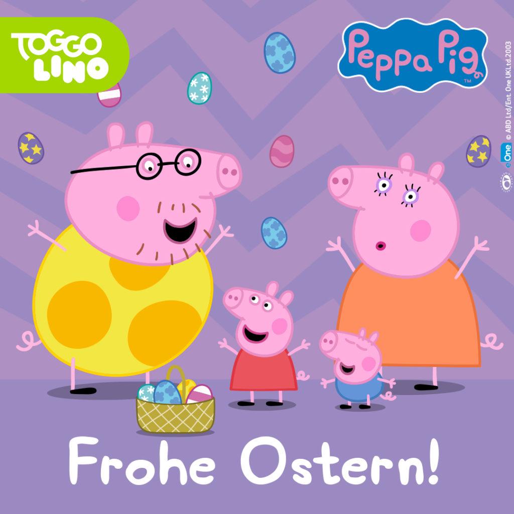 Peppa Pig wünscht Frohe Ostern