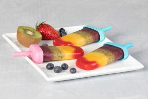 Regenbogen-Eis