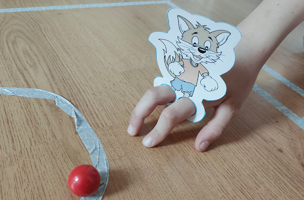 Finger-Fußball-Rofulino