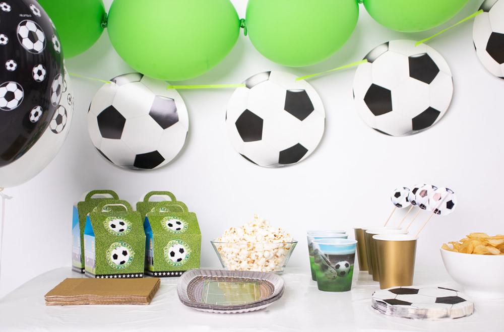 Fußball Party Deko