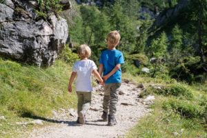 Wanderung mit Kindern