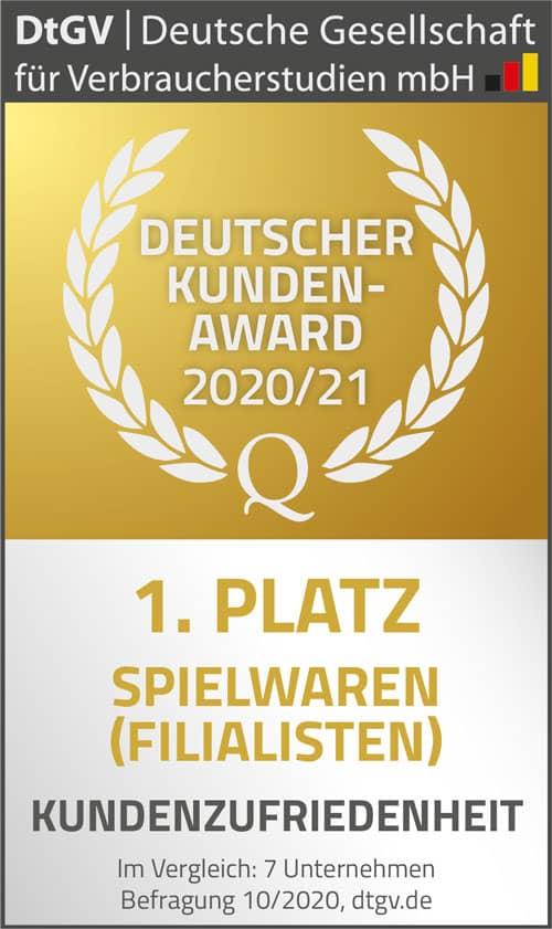 Deutscher Kunden-Award Kundenzufriedenheit