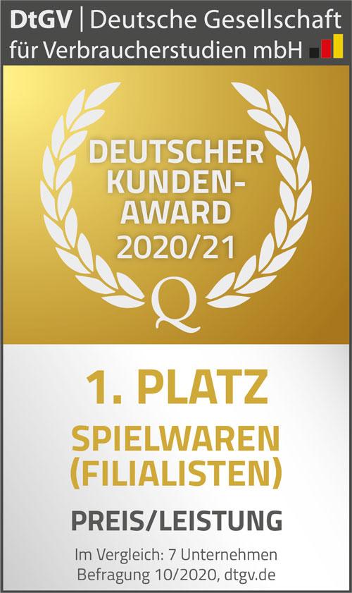 Deutscher Kunden-Award Preis / Leistung