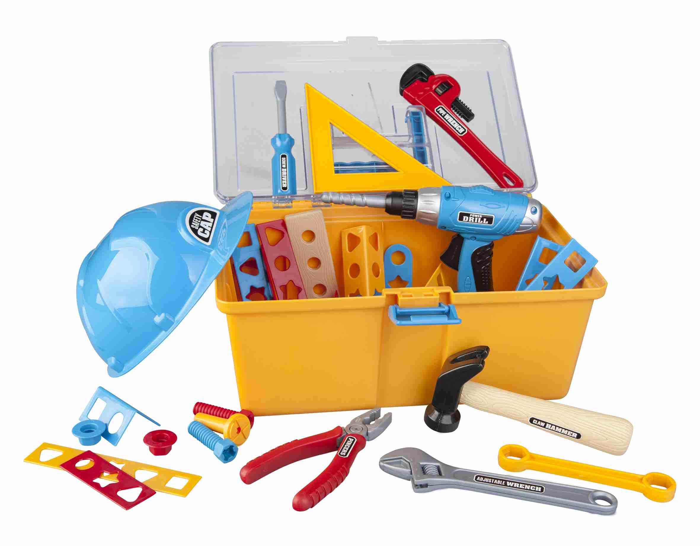 Werkzeugkoffer für Kinder zum phantasievollen Spielen