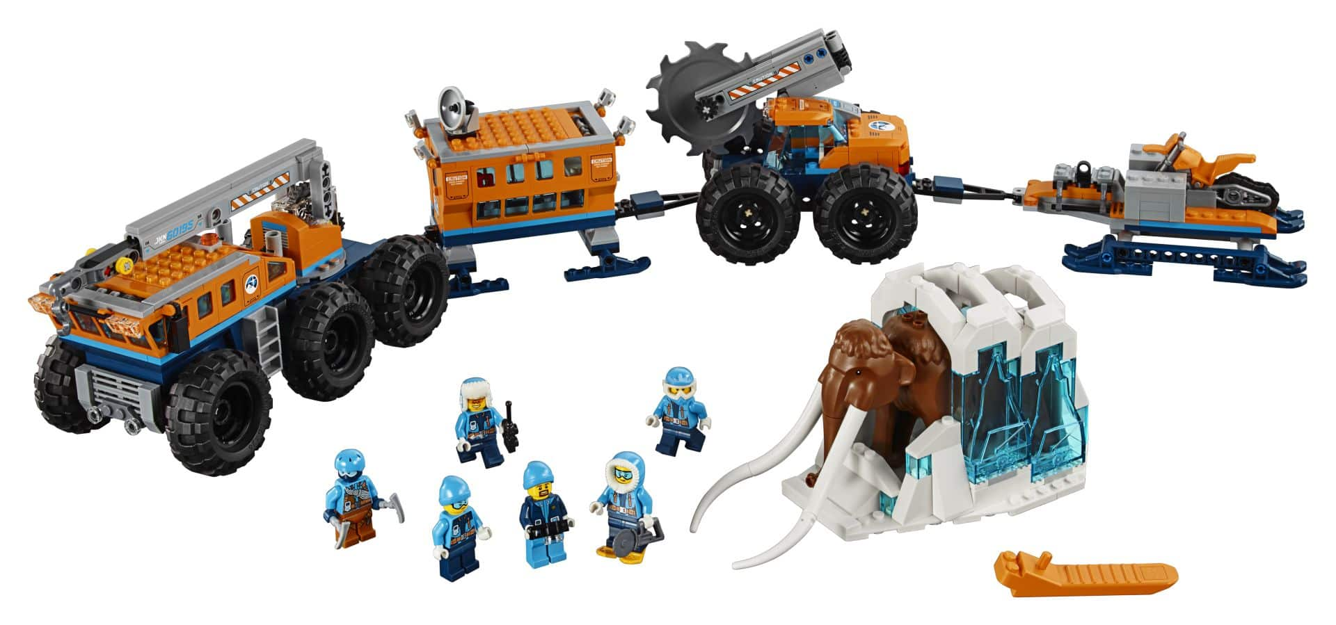 LEGO® City Arctic Expedition 60195 - Mobile Arktis-Forschungsstation