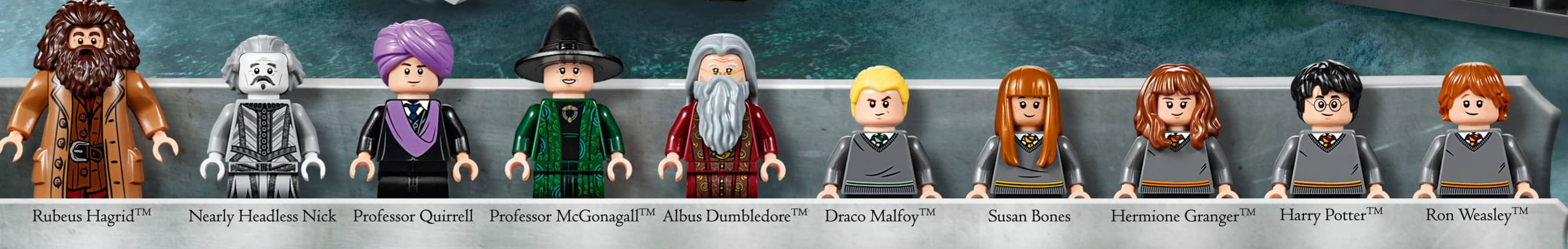 die LEGO® Harry Potter (TM) Charaktere