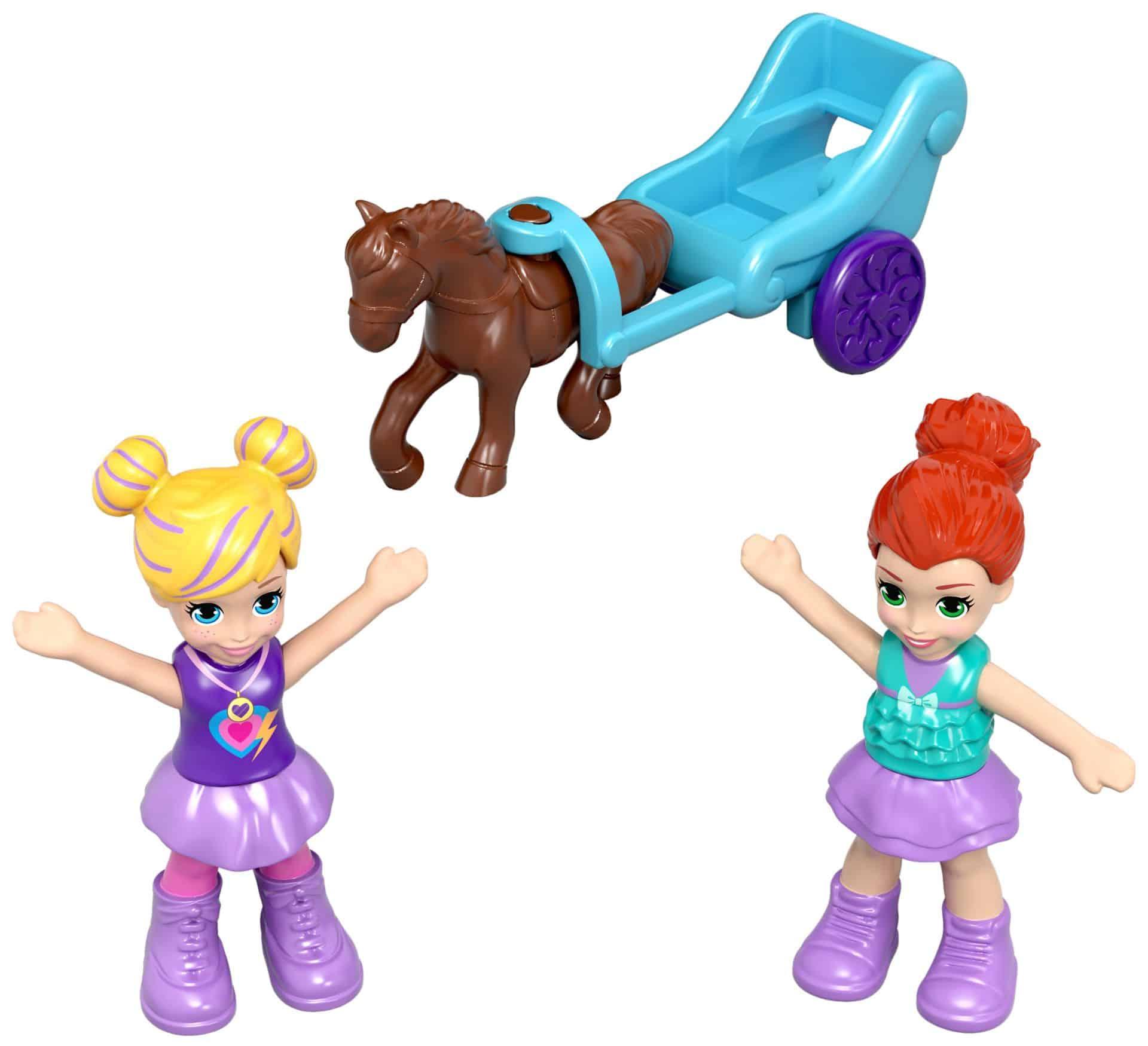 Spielfiguren von Polly Pocket