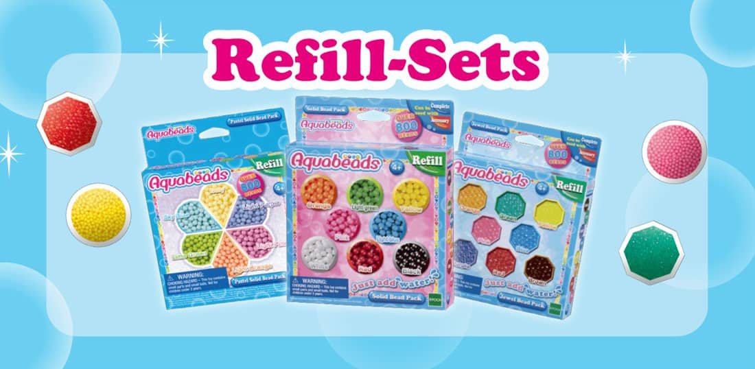 Aquabeads Refill-Sets