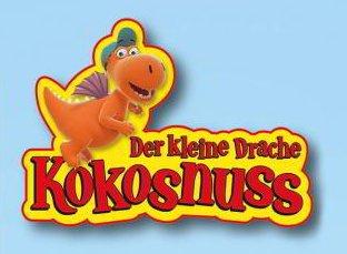 Kleiner Drache Kokosnuss Logo