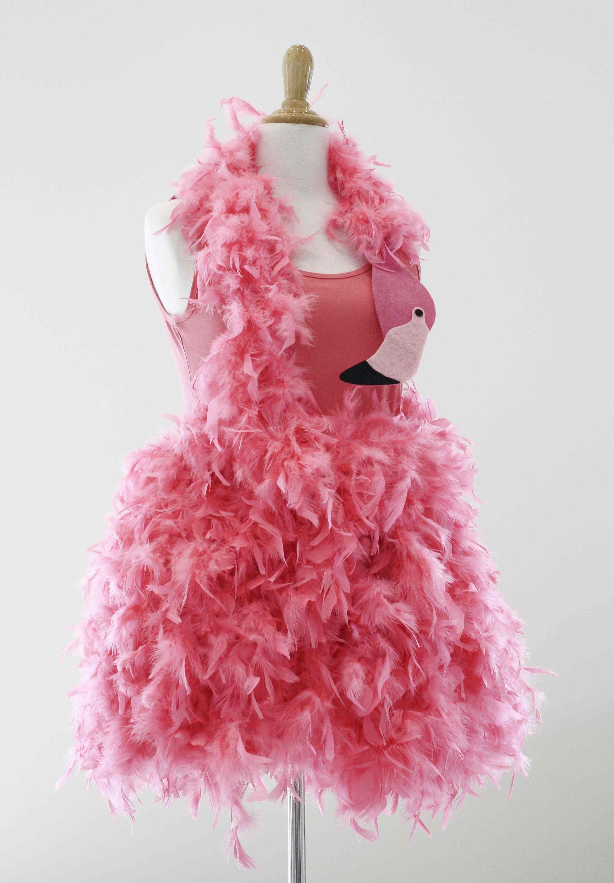 Flamingokostüm