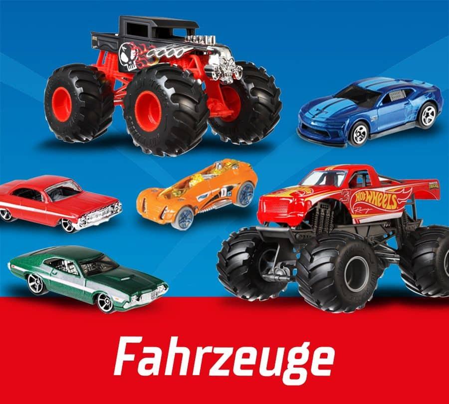 Hot Wheels Fahrzeuge
