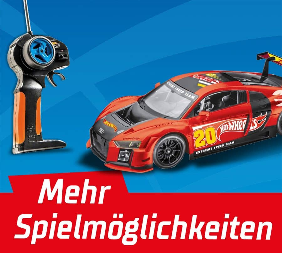 Hot Wheels Rennbahnen