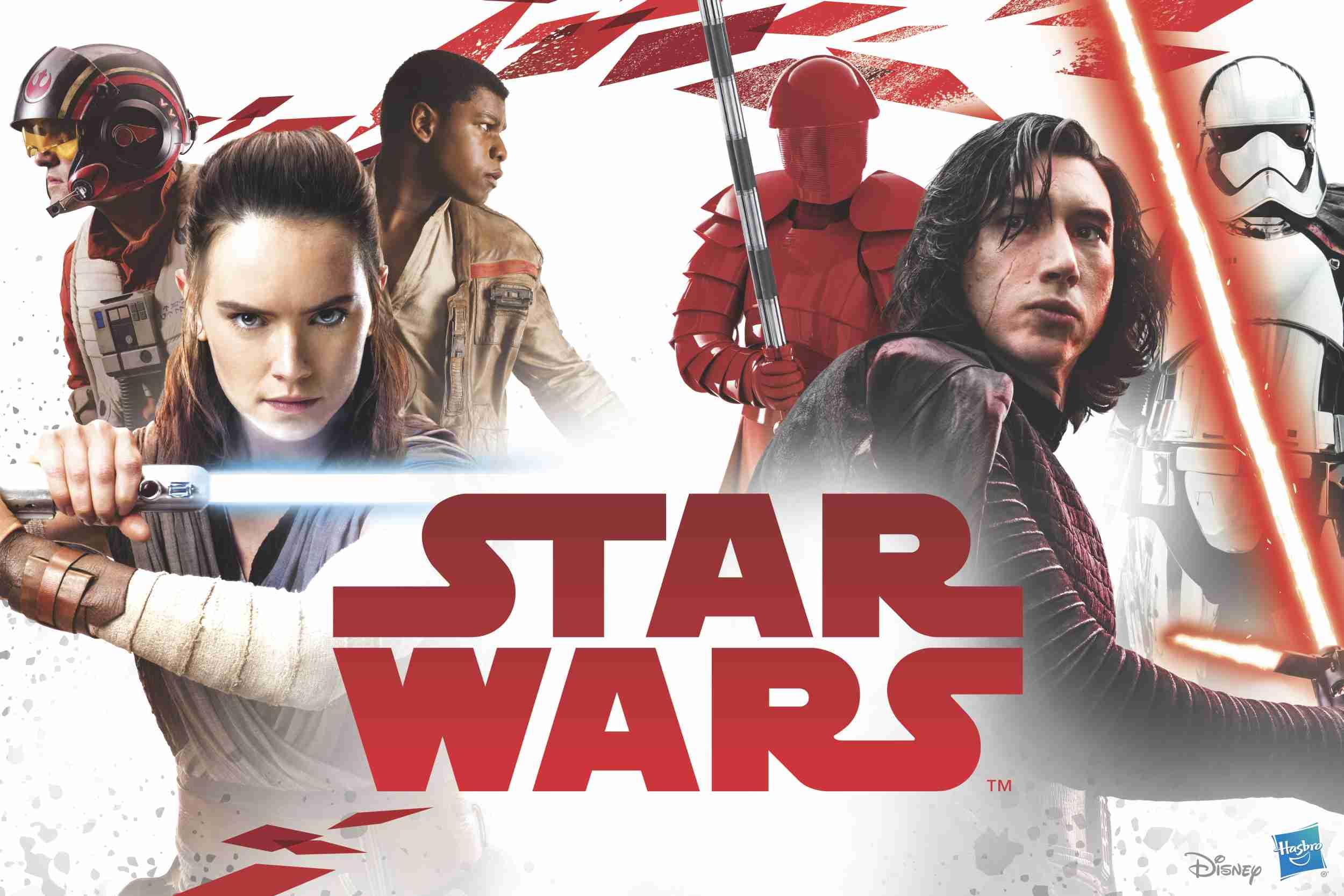 Titelbild- Star Wars - die letzten Jedi