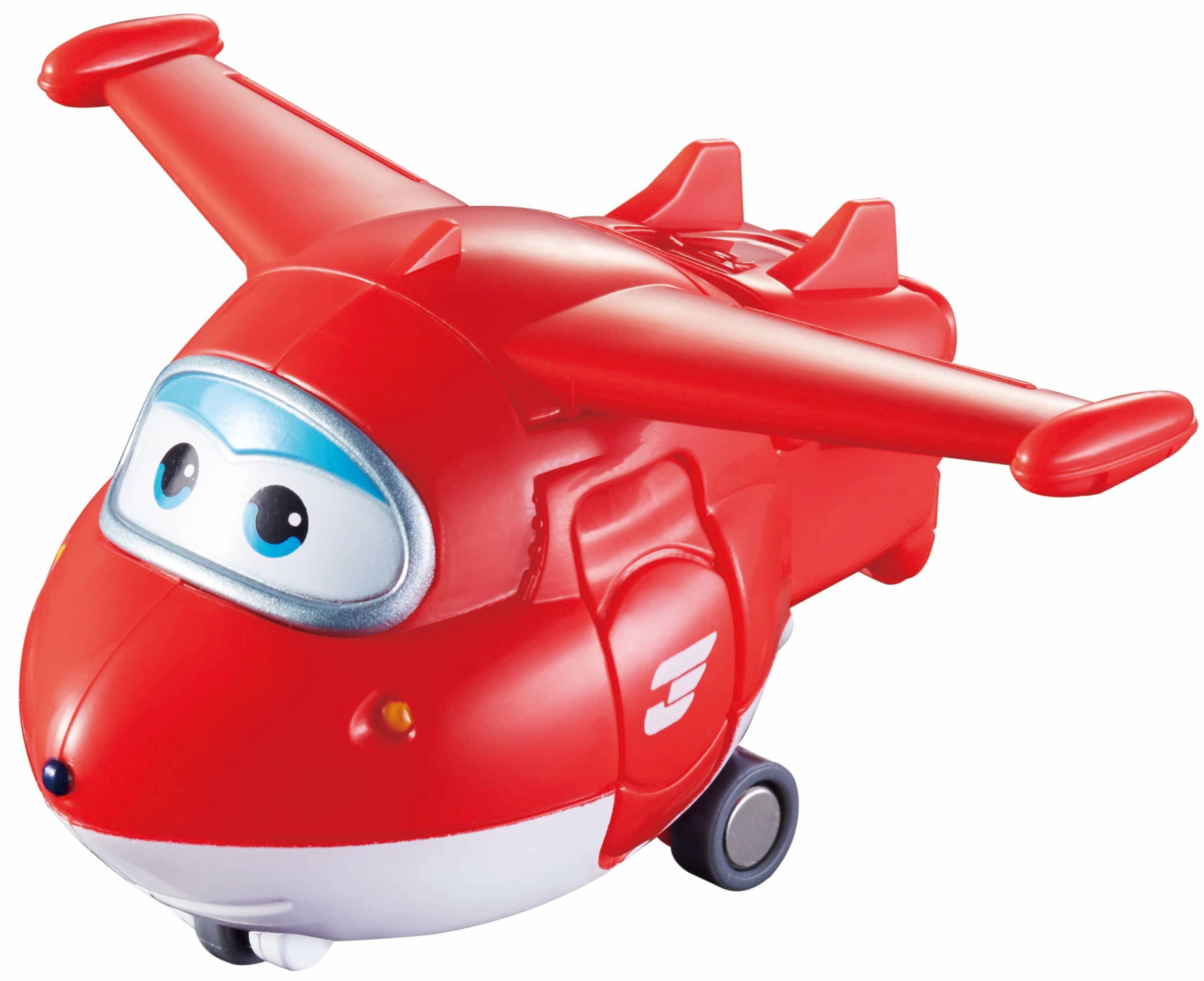 Flugzeug Jett von den Super Wings