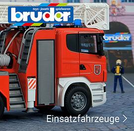 Einsatzfahrzeuge von Bruder