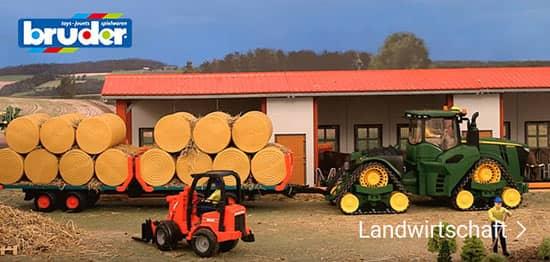 Landwirtschaftsfahrzeuge von Bruder