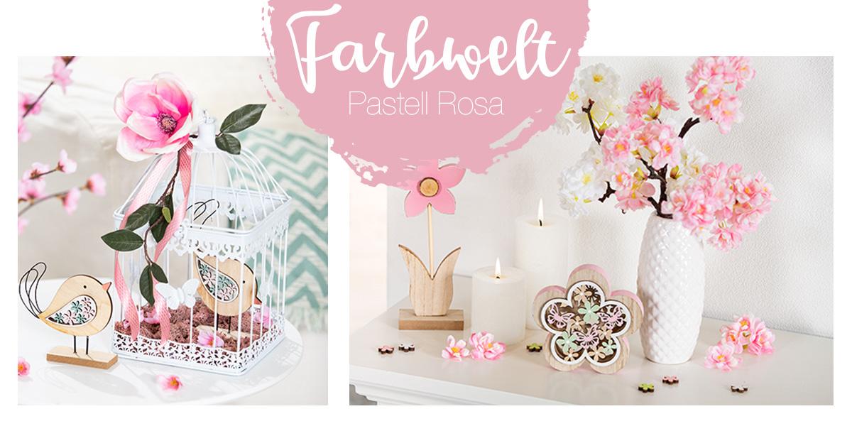 Fruehlingsdeko rosa pastell - Shop den Look