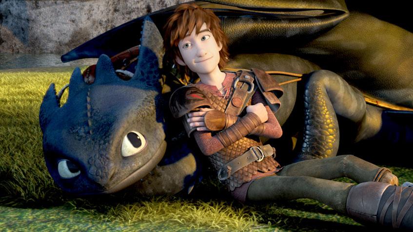 Hicks und Ohnezahn aus DreamWorks Dragons - Drachen zähmen leicht gemacht