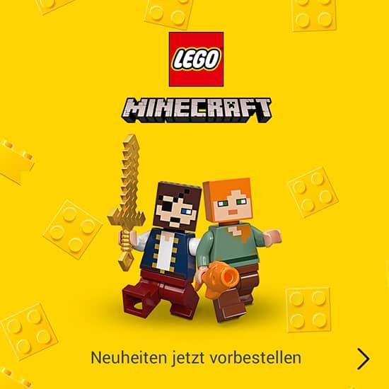LEGO Minecraft Neuheiten
