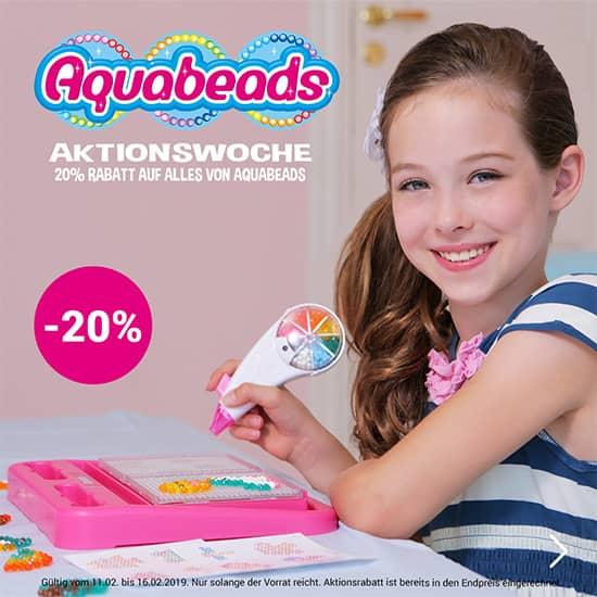 20% auf Aquabeadst