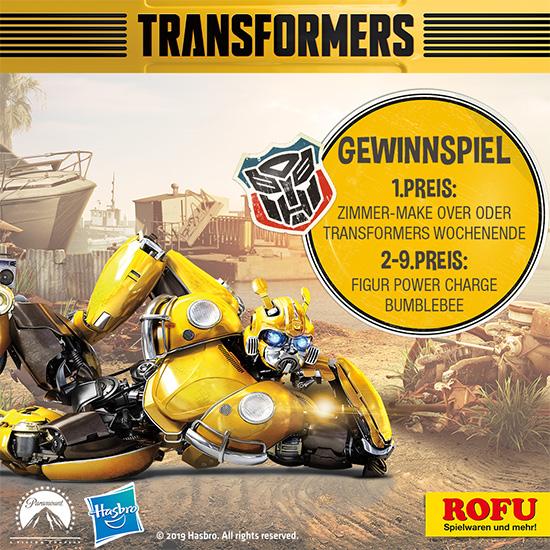 Transformers Gewinnspiel