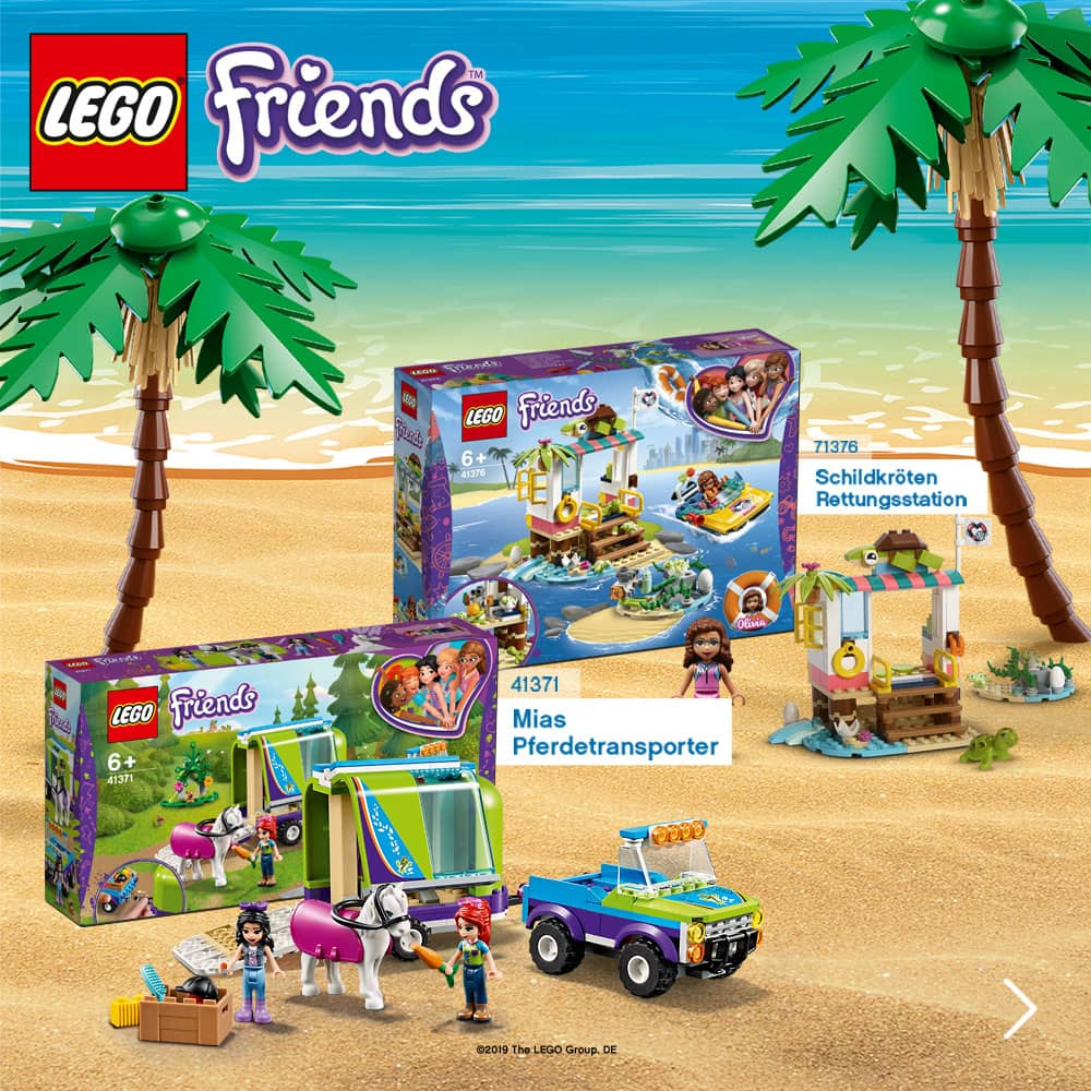 LEGO Sommerneuheiten