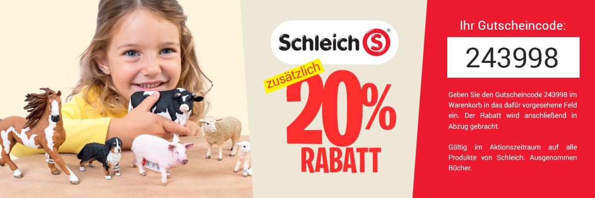 Schleich 20%