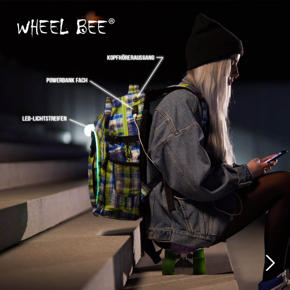 Wheel Bee Rücksäcke