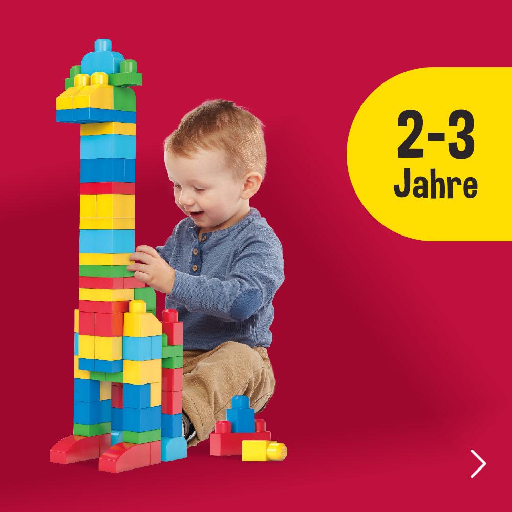 Geschenke für 2 bis 3 Jährige