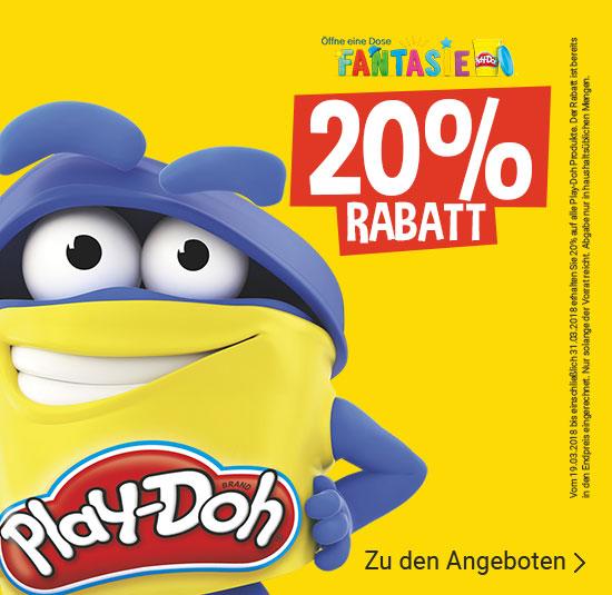 20% auf Play-Doh