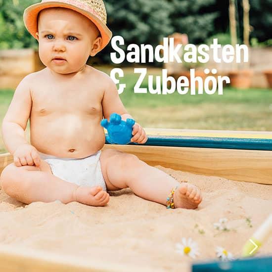 Sandkasten & Zubehör