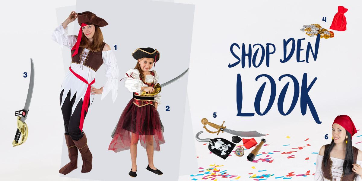 Seeräuber Style - Shop den Look