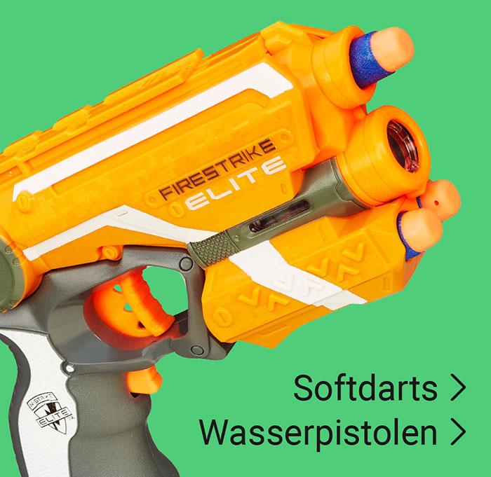 Wasserpistolen Softdarts
